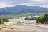 Landscape near Loch Laggan, Highlands, Scotland — Stock Photo