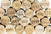 Still life of corks — Stock Photo