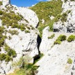 Stock Photo: Galamus Gorge, Languedoc-Roussillon, France