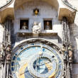 Horloge at Old Town Square, Prague, Czech Republic - Стоковая фотография