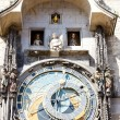 Horloge at Old Town Square, Prague, Czech Republic - Stok fotoğraf