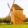 Wooden windmill, Stary Poddvorov, Czech Republic - Стоковая фотография