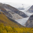 Nigardsbreen gletsjer jostedalsbreen nationaal park, Noorwegen — Stockfoto