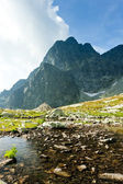 Five Spis Tarns, High Tatras (Vysoke Tatry), Slovakia — Stock Photo