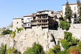 Hanging houses, Cuenca, Castile-La Mancha, Spain — Stock Photo