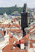 Gunpowder Gate, Prague, Czech Republic — Stock Photo