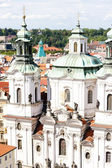 Saint Nicholas Church at Old Town Square, Prague, Czech Republic — Stock Photo