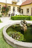 вртбовский сад, прага, чешская республика — Стоковое фото