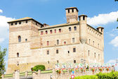 Grinzane Cavour Castle, Piedmont, Italy — Stock Photo
