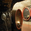 Wine cellar, Litomerice, Czech Republic - Stock Photo