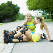 Inline skaters — Stock Photo