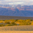 Stovepipe Wells sand dunes, Death Valley National Park, Californ — Stock Photo