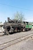 Steam locomotive, delivery point in Oskova, Bosnia and Hercegovi — Stock Photo