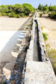 Pegoes Aqueduct, Estremadura, Portugal — Stock Photo
