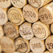 Stock Photo: Still life of corks
