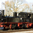 Steam locomotive, Steinbach - Jhstadt, Germany — Stock Photo
