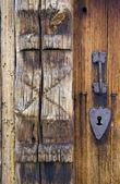 Door's detail, Uvdal Stavkirke, Norway — Stock Photo