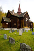 Rollag Stavkirke, Norway — Stock Photo