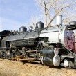 Stem locomotive in Colorado Railroad Museum, USA — Stock Photo