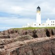 Stock Photo: RubhReidh Lighthouse, Highlands, Scotland