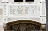 Detail of renaissance house, Slavonice, Czech Republic — Stock Photo
