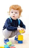 Playing little boy — Stock Photo
