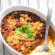 Baked Mexicmixture with mozzarella — Stock Photo #22519931