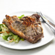 Royalty-Free Stock Photo: Grilled T-bone steak