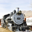 Stem locomotive in Colorado Railroad Museum, USA — Stock Photo #23607663