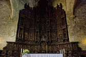 Interior of Saint Mary's Cathedral, Caceres, Extremadura, Spain — Stock Photo