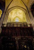 Insidan av katedralen i sevilla, andalusien, spanien — Stockfoto