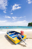 Fishing boat, Sauteurs Bay, Grenada — Stock Photo