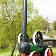 Traction engine, Carrbridge, Highlands, Scotland — Stock Photo