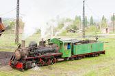 Steam locomotive, Kostolac, Serbia — Stock Photo