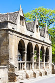 Old Market Hall, Chipping Camden, Gloucestershire, England — Stock Photo