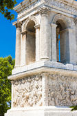 Roman Mausoleum, Glanum, Saint-Remy-de-Provence, Provence, Franc — Stock Photo