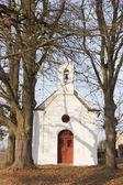 Iglesia, lomec, república checa — Foto de Stock