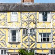 Stock Photo: Half timbered house, Ludlow, Shropshire, England