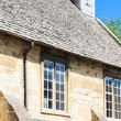 Facade of house, Chipping Camden, Gloucestershire, England — Stock Photo
