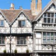 Stock Photo: Garrick Inn and Harvard House, Stratford-upon-Avon, Warwickshire