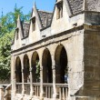 Stock Photo: Old Market Hall, Chipping Camden, Gloucestershire, England