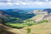 Hardknott Pass, Cumbria, England — Stock Photo