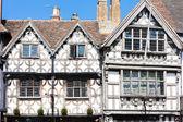 Garrick Inn and Harvard House, Stratford-upon-Avon, Warwickshire — Stock Photo