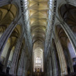 Interior of Cathedral Notre Dame, Amiens, Picardy, France — Stock Photo #27362981