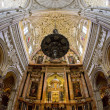 Interior of Mosque-Cathedral, Cordoba, Andalusia, Spain — Stock Photo #27363221