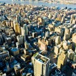Stock Photo: View of Manhattfrom Empire State Building, New York City,