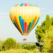 Hot air balloon, Provence, France — Stockfoto