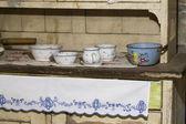 Natura morta nella vecchia cucina — Foto Stock