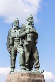 Commando Memorial at Spean Bridge, Highlands, Scotland — Stock Photo