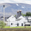 Stock Photo: Dalwhinni Distillery, Inverness-shire, Scotland